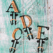 Forged Alphabet Hook