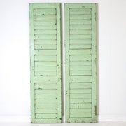 IAE0719-03 Vintage Indian Shutters (2 panels)