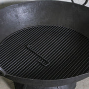 IDE0121-08 Iron Kadai Firepit with Grill