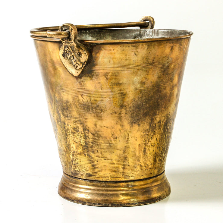 IDE0719-22 Indian Brass Bucket