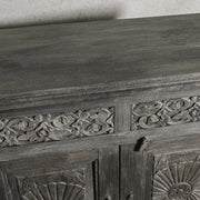 IFU0221-85 Vintage Indian 2 Door Sideboard