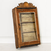 IFU0819-65 Vintage Indian Display Cabinet
