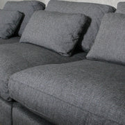 Avalon Modular Sofa - Single Seat - Carbon