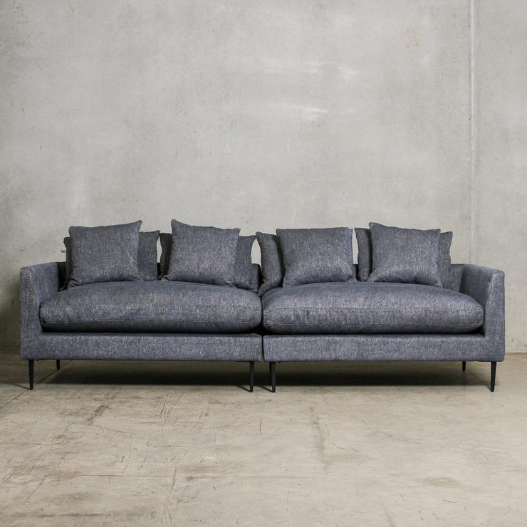 Manhattan Sofa 4 Seater - Denim