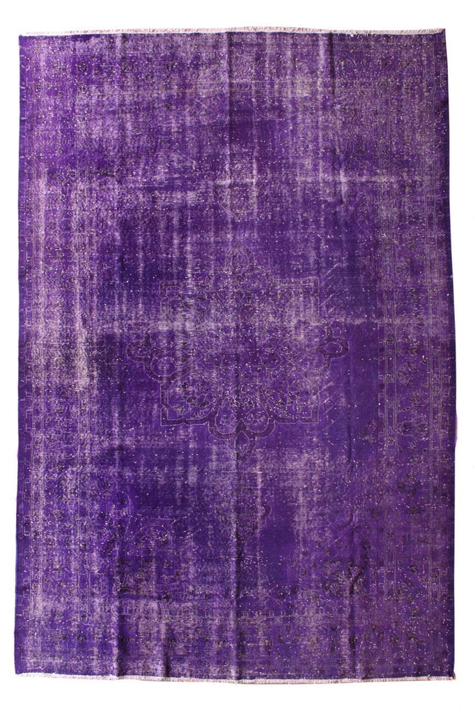 TURCA2-P-01 Purple Overdyed Carpet