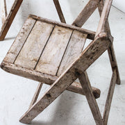 IFU1118-87 Indian Vintage Folding Chair