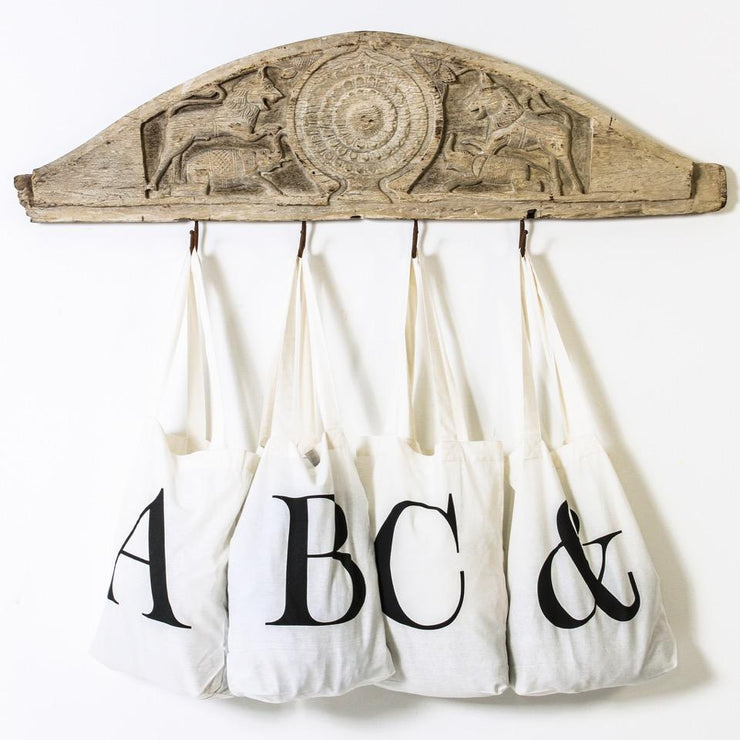 Ampersand Cotton Bag