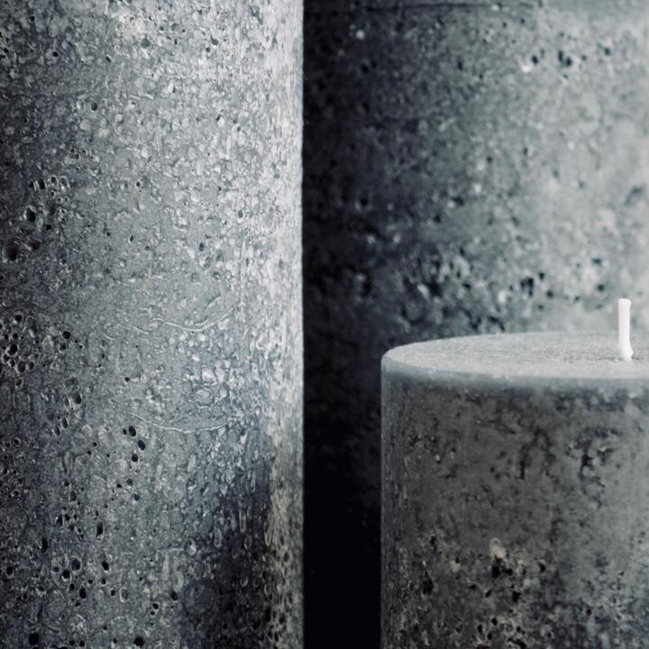 Textured Candle - Charcoal