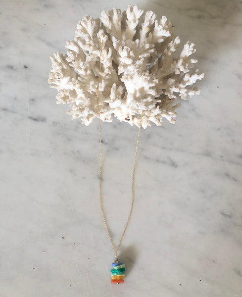 Cluster Drop Necklace