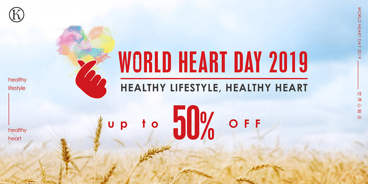 World Heart Day 2019 Up to 50% OFF!