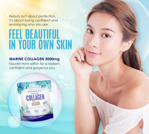 Marine Collagen x 2 + Bird's Nest With Red Dates & Wolfberries 6's - Kinohimitsu Singapore