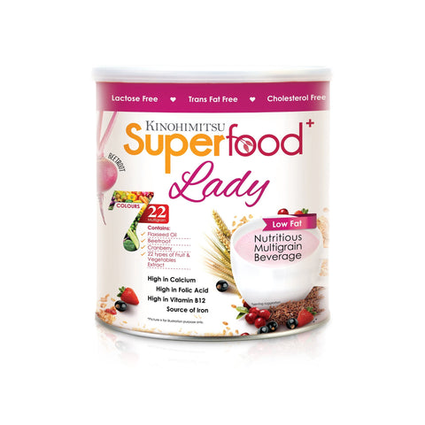 Superfood+ Lady 500g - Kinohimitsu Singapore