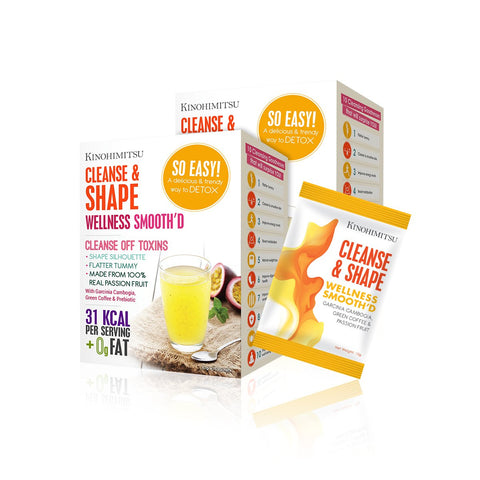 Bundle of 2: Wellness Smooth'D Cleanse & Shape 15's x 2