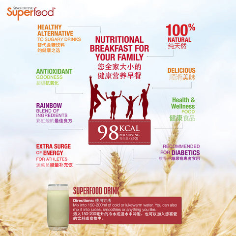 Superfood+ Family Pack - Kinohimitsu Singapore
