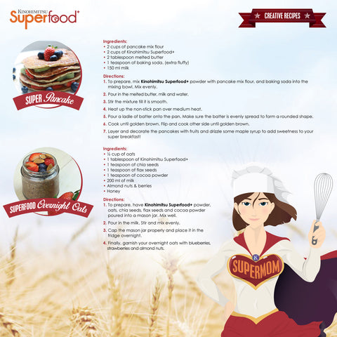 Superfood+ 10's - Kinohimitsu Singapore  - 7