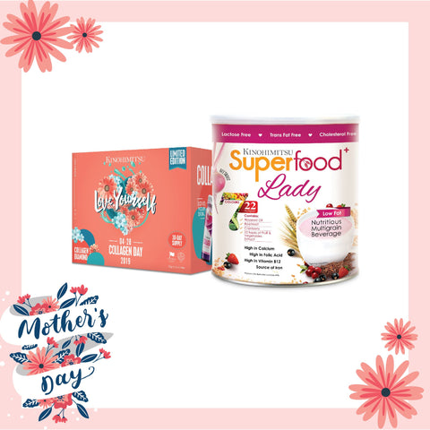 Limited Edition Collagen Diamond + Superfood Lady 500g