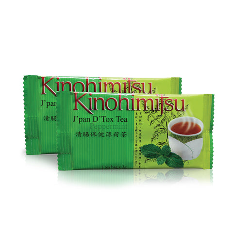D'Tox Tea Peppermint 14's - Kinohimitsu Singapore  - 2