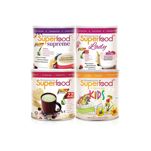 3 Months' Supply: Superfood⁺ / Superfood⁺ Lady / Superfood⁺ Kids / Superfoodᵀᴹ Supreme 500g