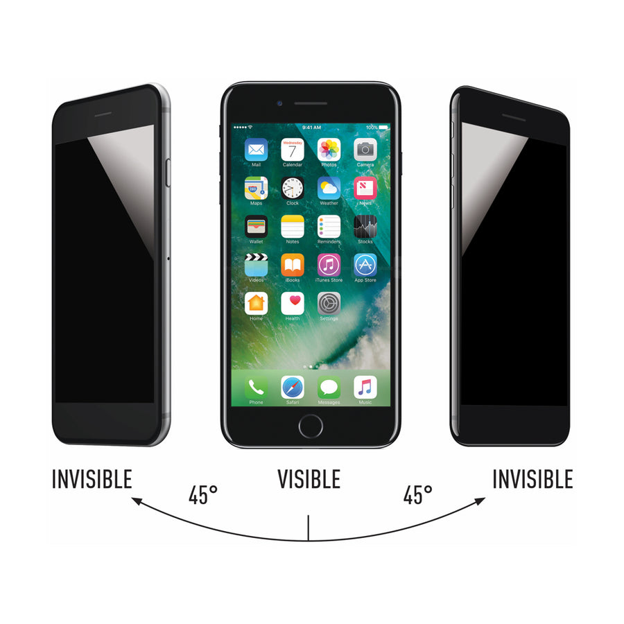 InfoShield Privacy Glass for iPhone 8/7/6s