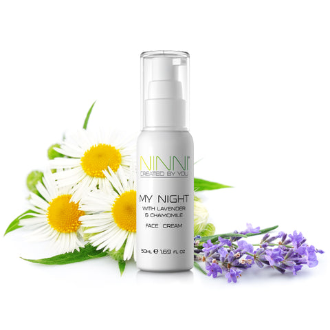 Personalised skin care from NINNI. Personalised natural skin care that nourish your skin
