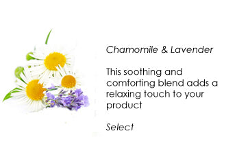 Natural personalized skin care soothe your skin with chamomile and lavender