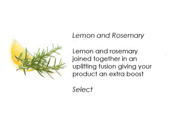 Personalise natural skin care revive your skin with lemon and rosemary