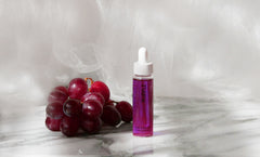 Face oil with grapeseed oil and jasmine. Good for all skin types