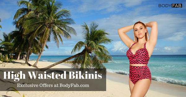Plus Size High Waist Bikinis at Special Discounts