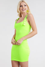 Buckle Strap Bodycon Dress Clothing