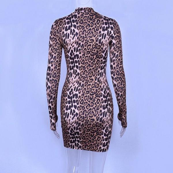Open Thump Cheetah print Dress