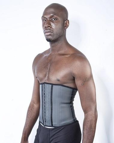 Men Latex Waist Cincher