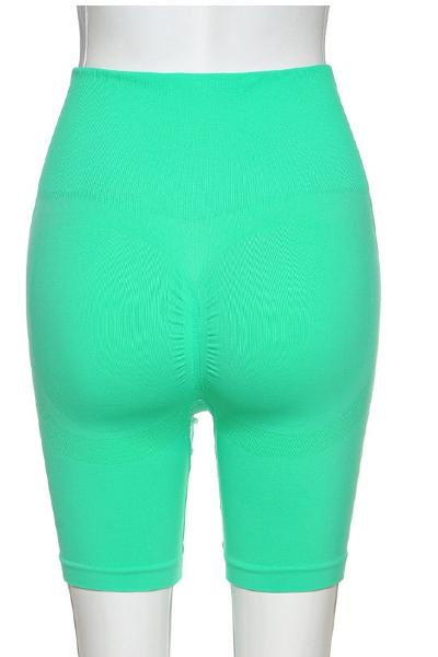 Green Mimi Biker shorts