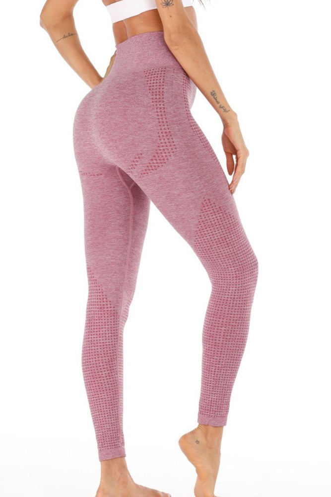 High Waist Perforated Leggings