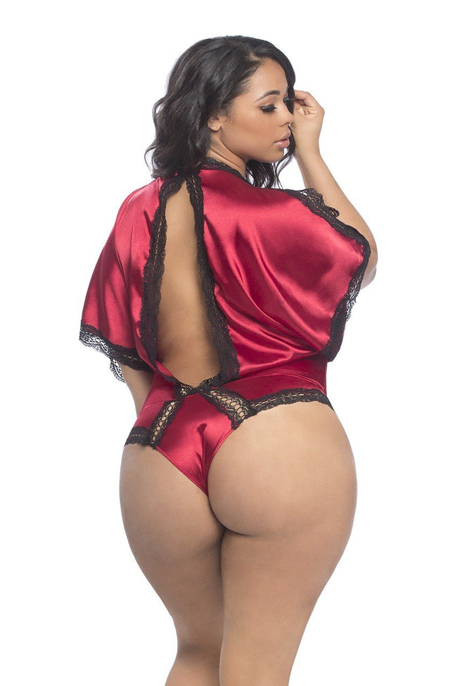 Satin Draped One-pIece