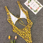 Cut Out One Piece Swimsuit Swimwear