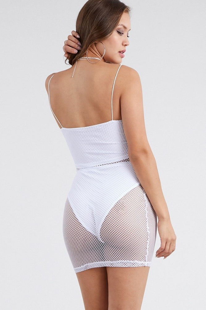 Net See Through Sexy Swimsuit Cover Ups Wholesale Swimwear