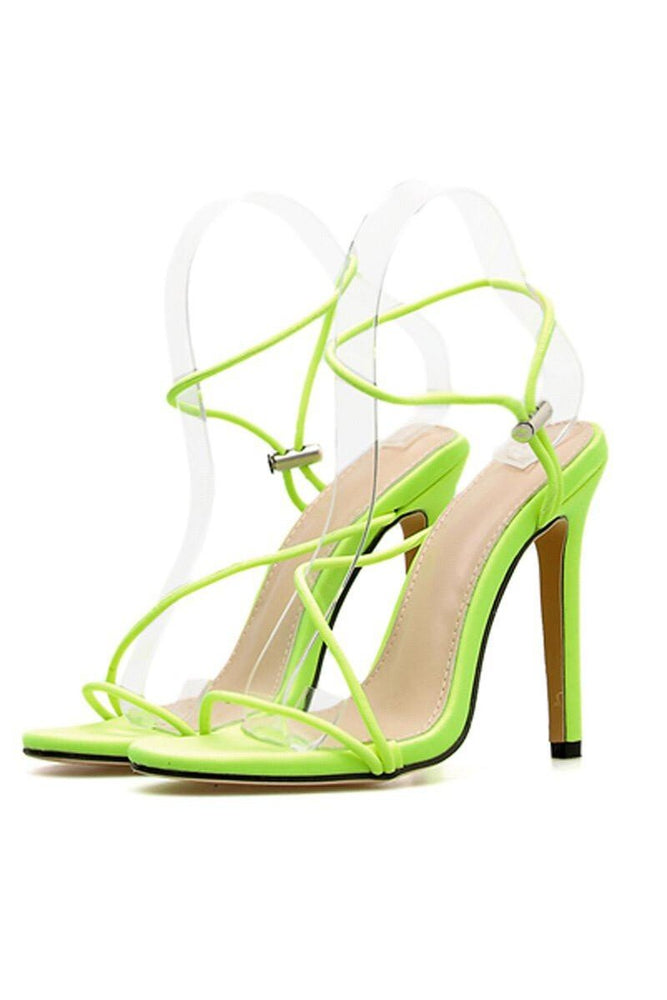 High Heel Strappy Sandals Shoe