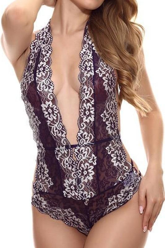 Hold me bodysuit lingerie Burgundy