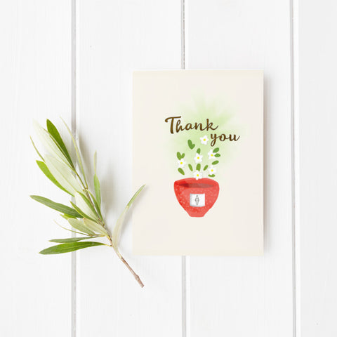 Tea Ave Card - Thank you