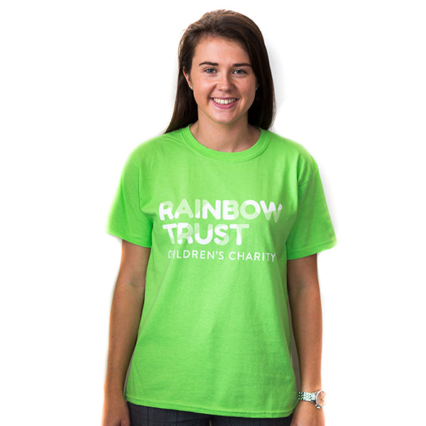 Light Green Rainbow Trust T-Shirt