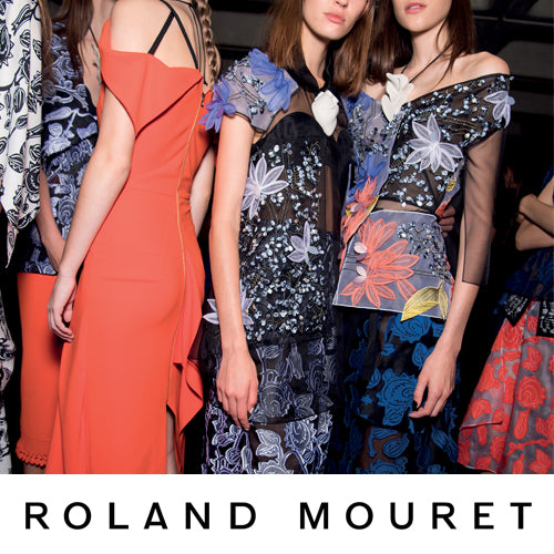 An evening with Roland Mouret