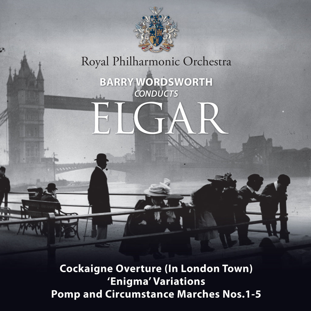 Barry Wordsworth Conducts Elgar [Single downloads, FLAC]