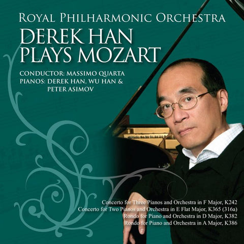 Derek Han Plays Mozart [Album download]