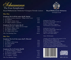 Grzegorz Nowak Conducts Schumann: The Four Symphonies [Album download]