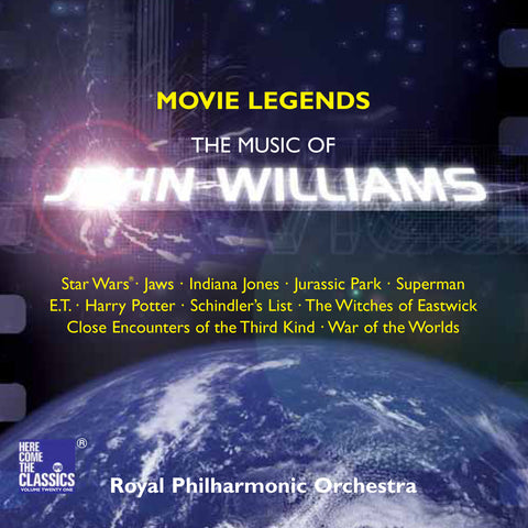 Movie Legends: The Music of John Williams (Here Come the Classics Volume 21) [Single downloads, MP3]