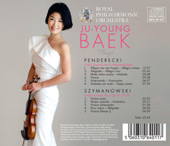 Ju-Young Baek Plays Penderecki and Szymanowski [Album download]