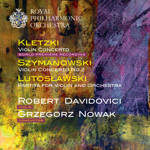 Kletzki, Szymanowski & Lutosławski: Music for Violin and Orchestra [Single downloads, FLAC]