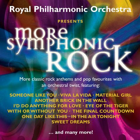 More Symphonic Rock [Single downloads, FLAC]