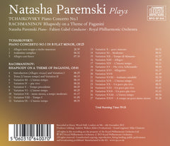 Natasha Paremski Plays Tchaikovsky and Rachmaninov [Album download]