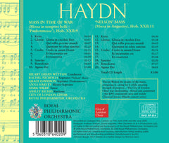 Haydn: Mass In Time Of War (Paukenmesse) and Nelson Mass [Album download]